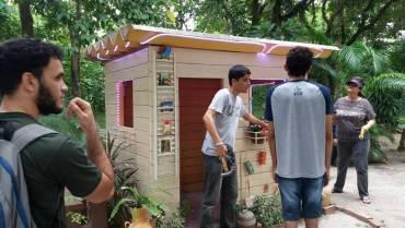 Projeto Miritrônica, agora nos bosques do Espaço ITEC Cidadão